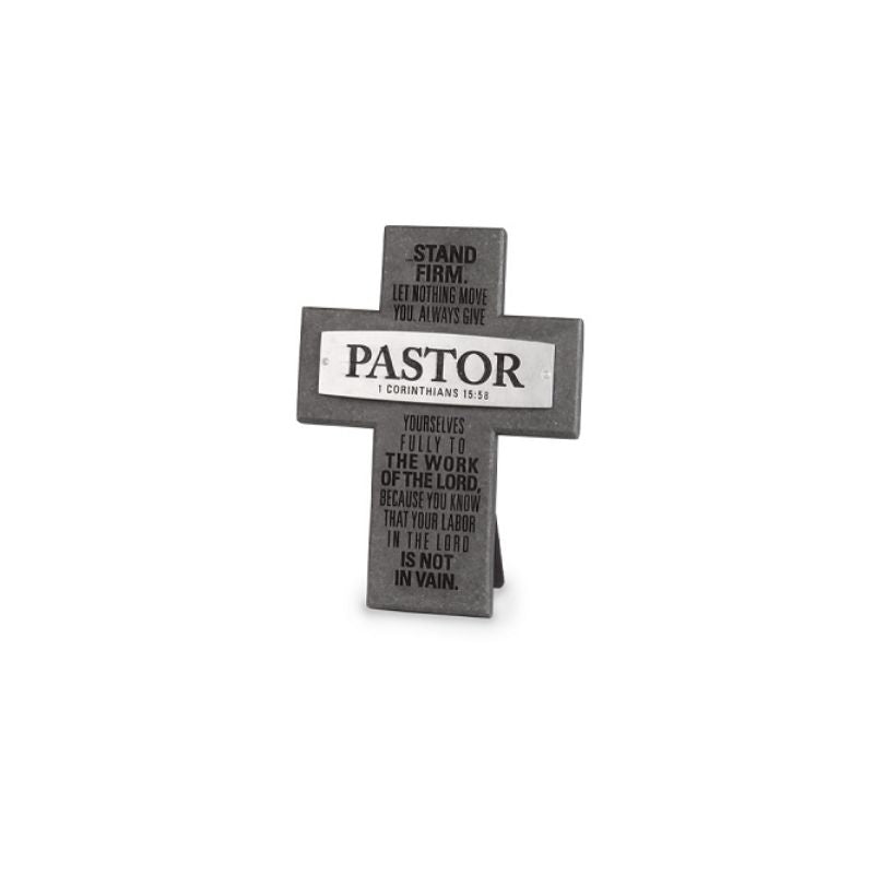 Cross Pastor With Easel