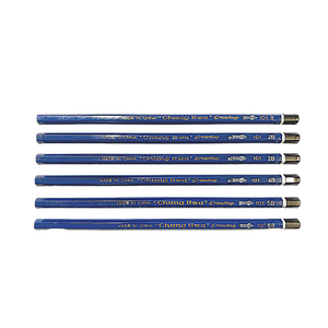 Drawing Pencils - B, 2B, 3B, 4B, 5B, 6B