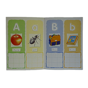 English Writing 4C Aa-Zz Preschool Workbook
