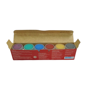 Faber-Castell 15ml Tempera Metallic Paints (6/Pack)
