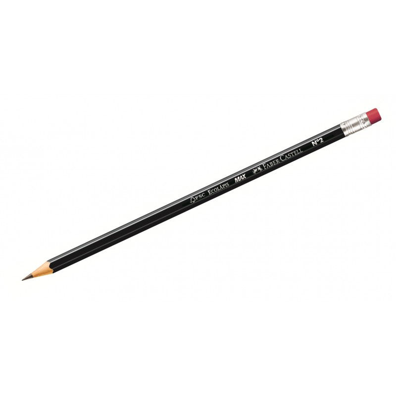 Faber-Castell Max Black HB Pencil