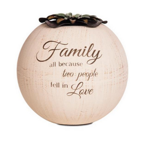Family 5″ Candle Holder