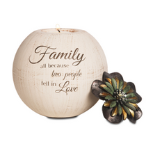 Load image into Gallery viewer, Family 5″ Candle Holder