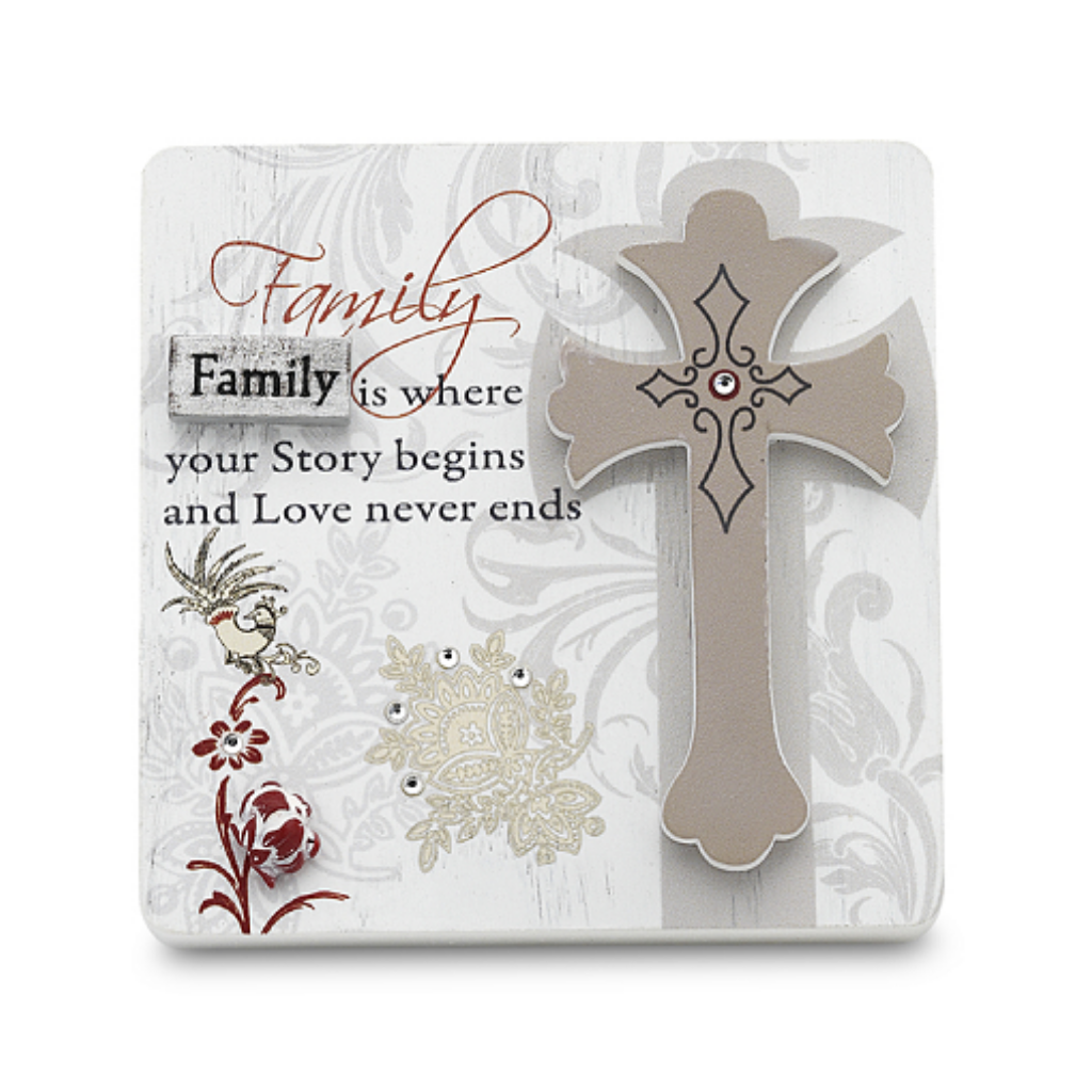 Family Self Standing Plaque