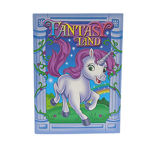 Fantasy Land Colouring Book