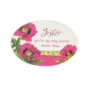 You Are Loved Sister Mini Plate