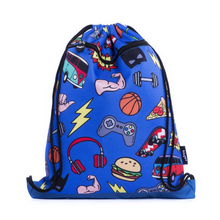 Load image into Gallery viewer, Fringoo Drawstring Bag - Doodle Boy