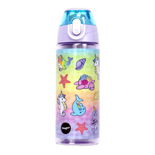 Load image into Gallery viewer, Fringoo Leakproof Water Bottle - Narwhal & Seahorse