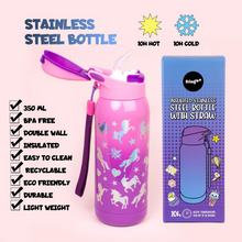 Load image into Gallery viewer, Fringoo Stainless Steel Bottles - Unicorn Ombre