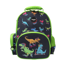 Load image into Gallery viewer, Fringoo Toddler Backpack - Dinosaur Skaters