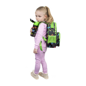 Fringoo Toddler Backpack - Dinosaur Skaters