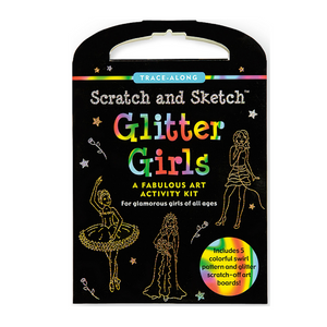 Glitter Girls Scratch and Sketch Activity Kit