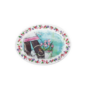 God, Grace & Love Mini Blessing Plate