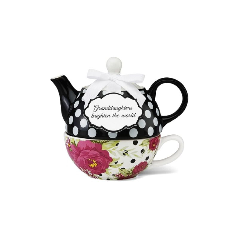 Granddaughter Ceramic Teapot