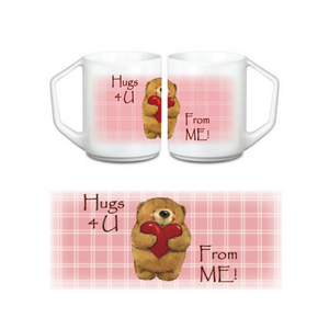 Ceramic Coffee Mug - Hugs 4 U