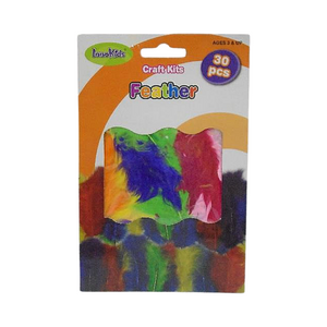 Innokids Craft Kit Feathers (30/Pack)