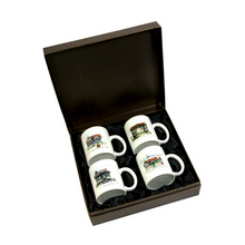 Load image into Gallery viewer, John Otway – 4 PC Mug Set in Gift Box – Port-Of-Spain West Trinidad