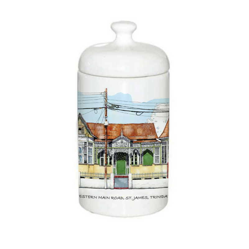 John Otway – Ceramic Jar – Western Main Road, St. James