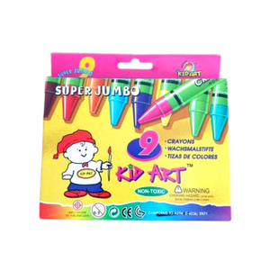 Kid Art 9's Super Jumbo Crayons