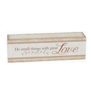 Love Table Block