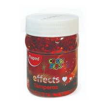Load image into Gallery viewer, Maped Color Peps Effects Tempera 200ml Paint Pots - Glitter