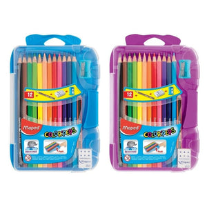 Maped Color Peps Coloured Pencils Set with Accessories
