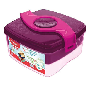 Maped Picnik Easy Open Plastic Lunch Box Container