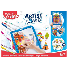 Load image into Gallery viewer, Maped Creativ Artist Board - Erasable Drawings