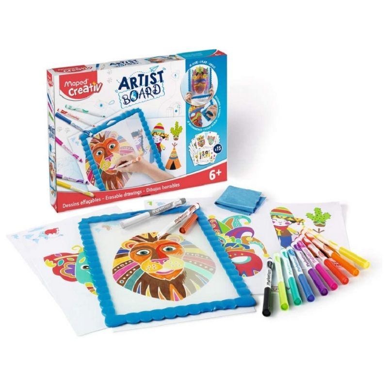 Maped Creativ Artist Board - Erasable Drawings
