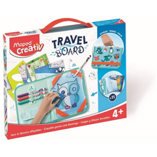 Load image into Gallery viewer, Maped Creativ Travel Board - Erasable Games & Drawings