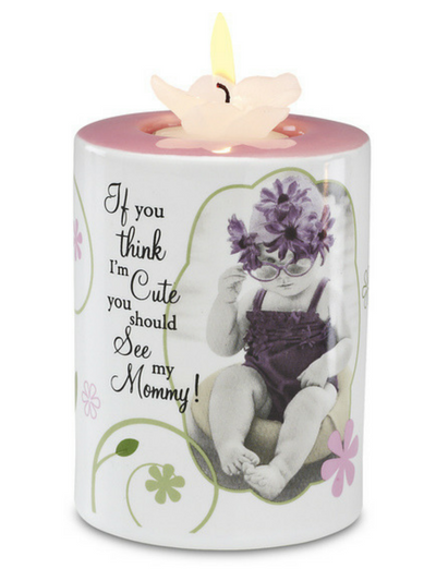 Mom Tea Light Holder