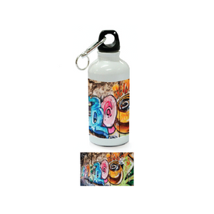 Nyla Singh – Aluminum Sublimation Water Bottle – Graffiti – POS Art