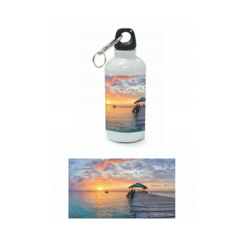 Nyla Singh – Aluminum Sublimation Water Bottle – Tobago Love