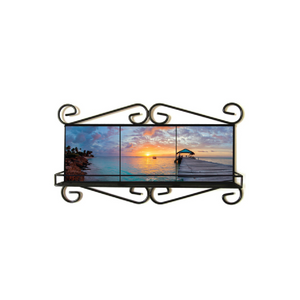 Nyla Singh – Wrought Iron Frame – End of Day