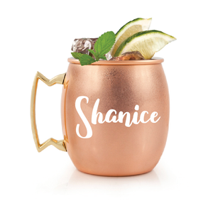 Personalised 16oz Moscow Mule Mug