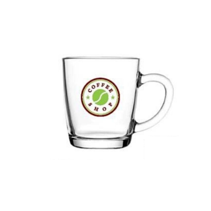 Personalised 11.5oz Glass Mug