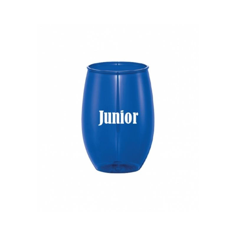 Personalised 15oz Stemless Wine Cup - Blue