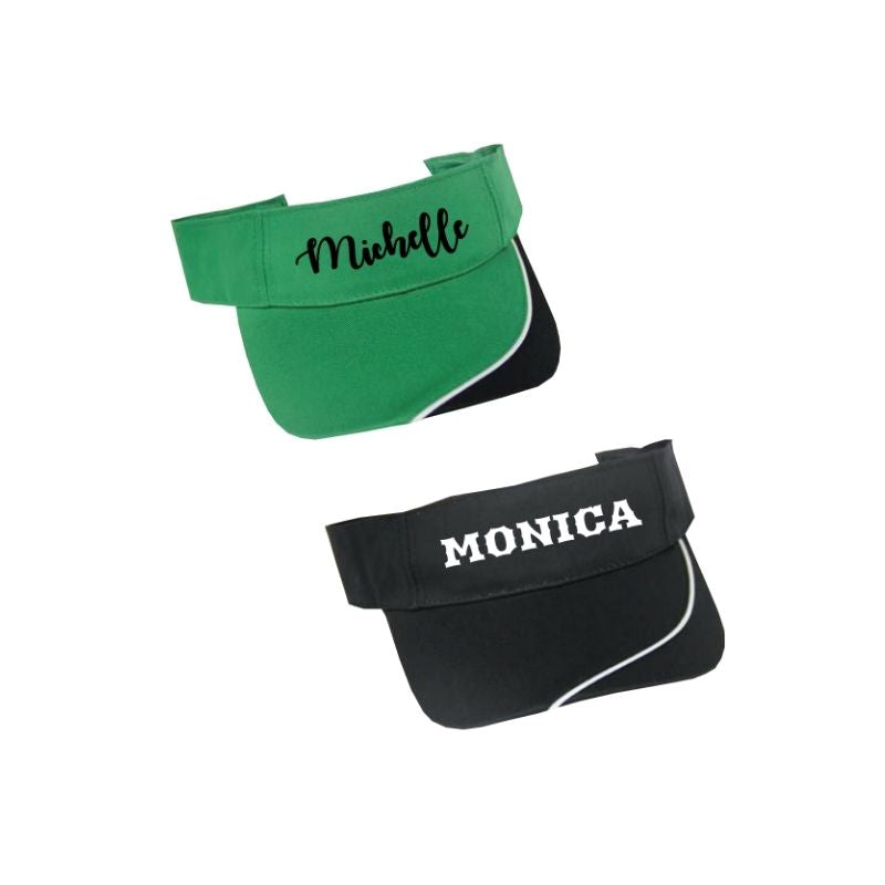 Personalized Accent Visor