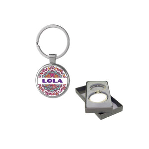 Personalised Anello Keyring