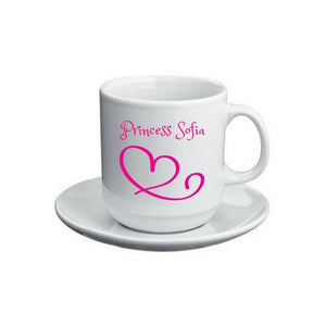 Personalised Coffee Mug and Coaster