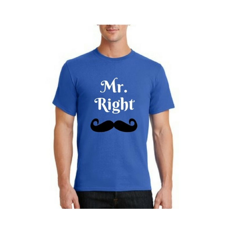 Personalised Essential T-Shirt – Blue