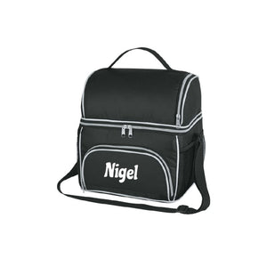 Personalised Excursion Cooler Bag - Black