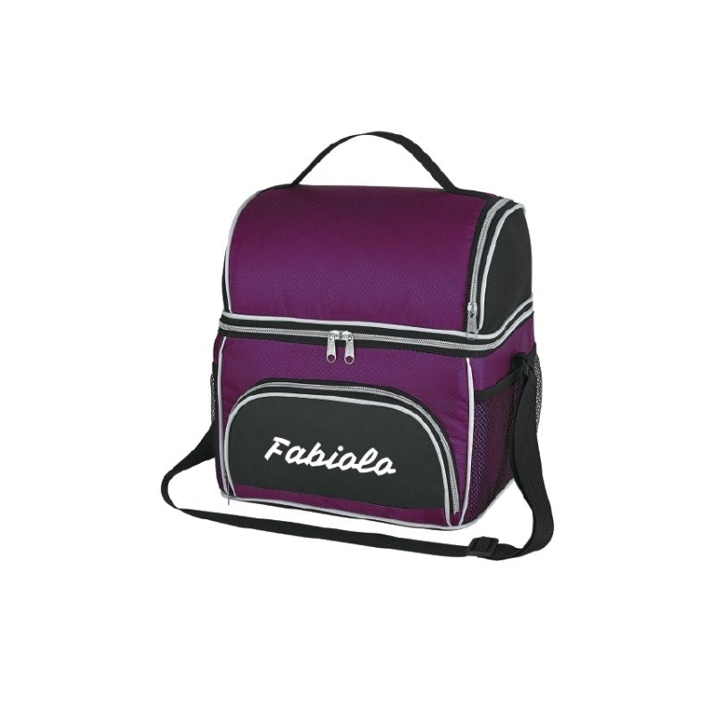 Personalised Excursion Cooler Bag - Purple