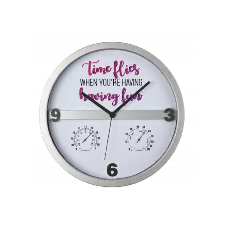 Personalised Half Display Wall Clock