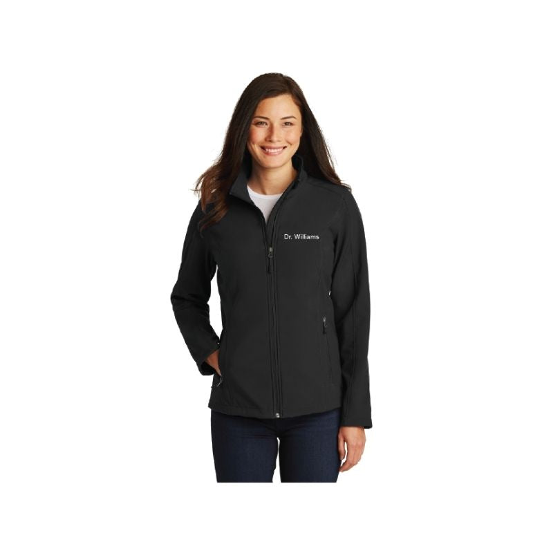 Personalised Port Authority Ladies Core Soft Shell Jacket