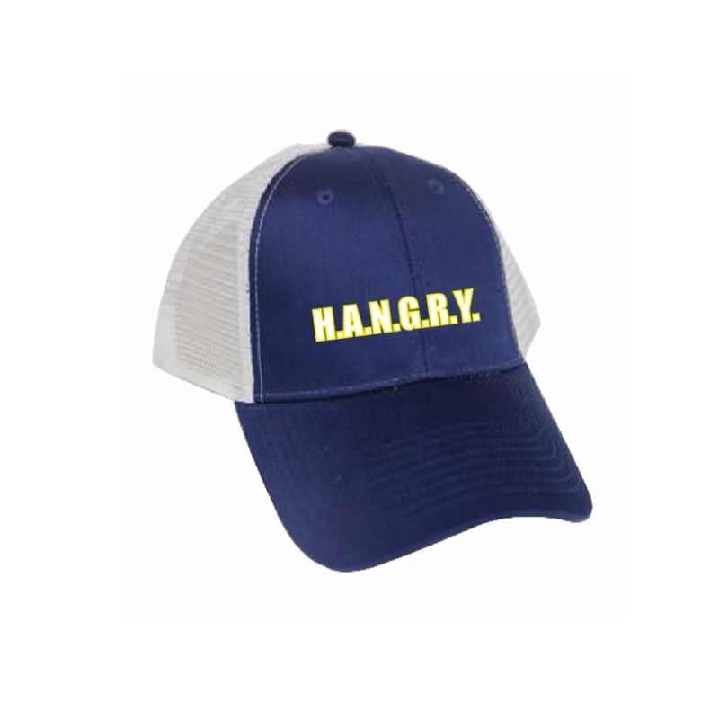 Personalised Solid Cotton Trucker Cap