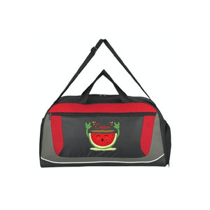 Personalised World Tour Duffel Bag - Red