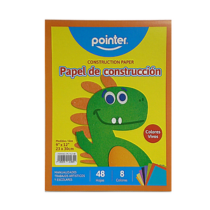 Pointer Construction Paper (48 Sheets)
