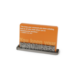 Promises Scripture Business Card Holder