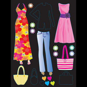 Runway Models Scratch and Sketch Activity Sticker Kit